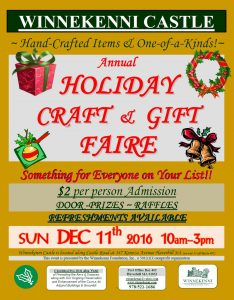 flyer-holidaycraftgiftfairesun11dec2016